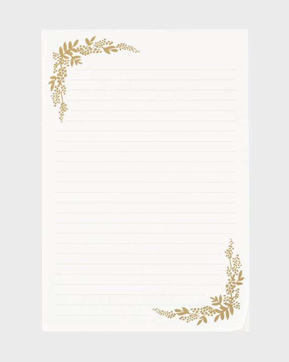 Rifle Paper co Birch Monarch Letter Paper Kirjepaperi