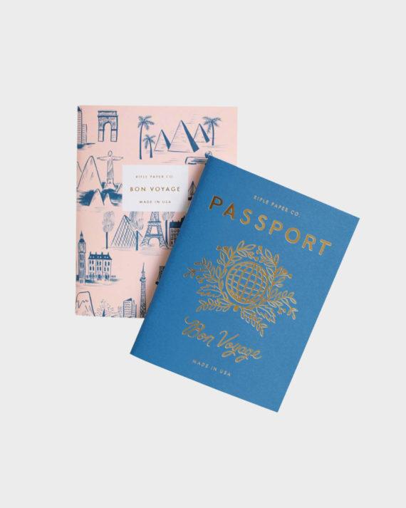 Rifle Paper co Passport Pocket Notebook set Pikkuvihkosetti