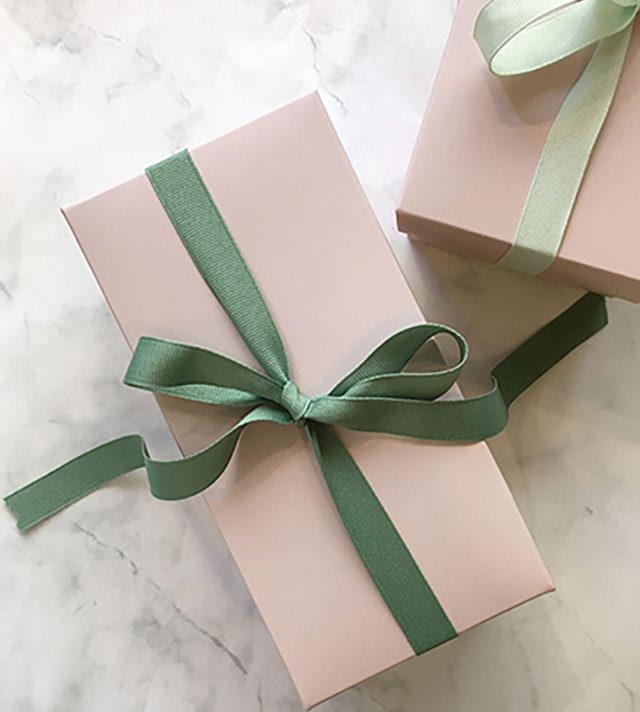 Lahjalaatikko Pieni Puuteri Gift box small powder pink