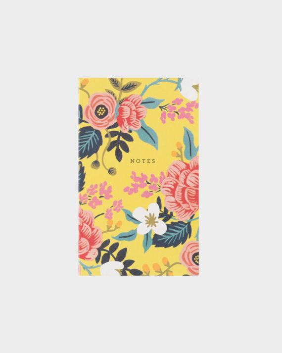 Rifle Paper co Birch Floral notepad muistilehtiö taskulehtiö