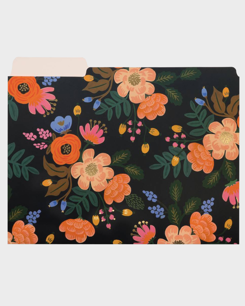 Rifle Paper co Lively Floral Folders Kansiot