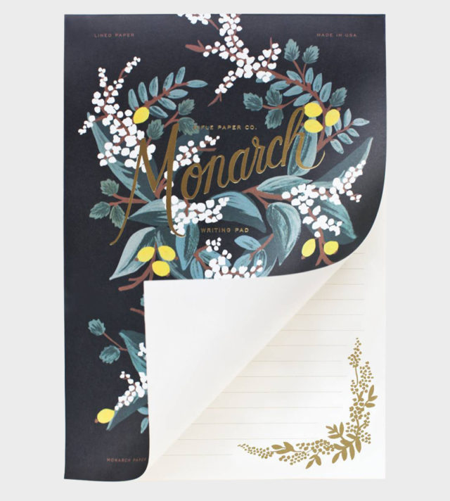 Rifle Paper co Monarch Letter Paper Kirjepaperi