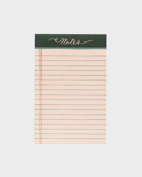 Rifle Paper co Rose Lined notepad muistilehtiö
