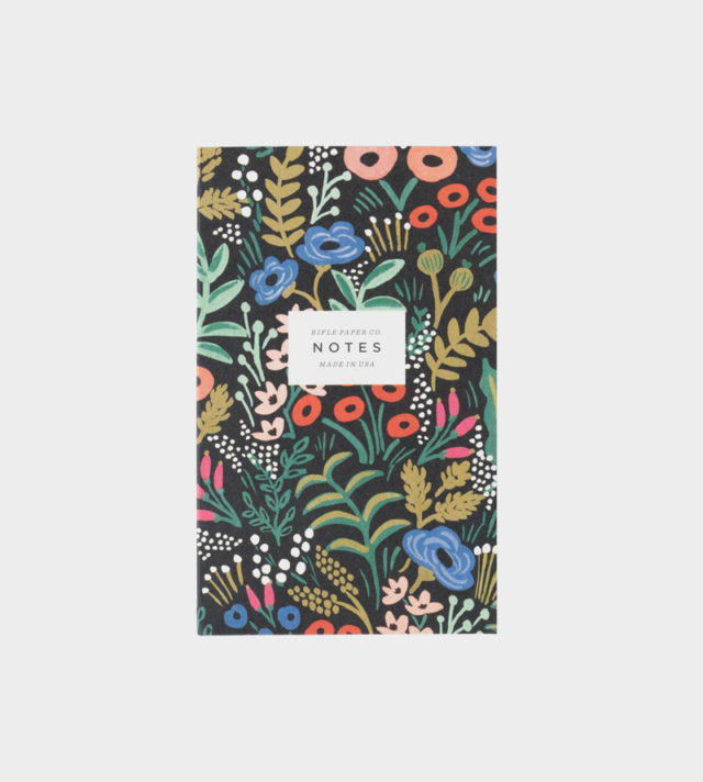 Rifle Paper co Tapestry pocket notepad muistilehtiö