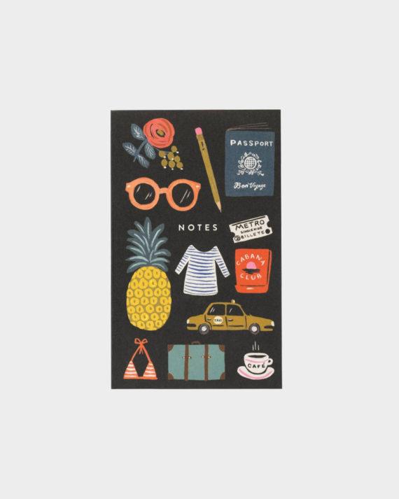 Rifle Paper co Bon Voyage pocket notepad muistilehtiö taskuleht