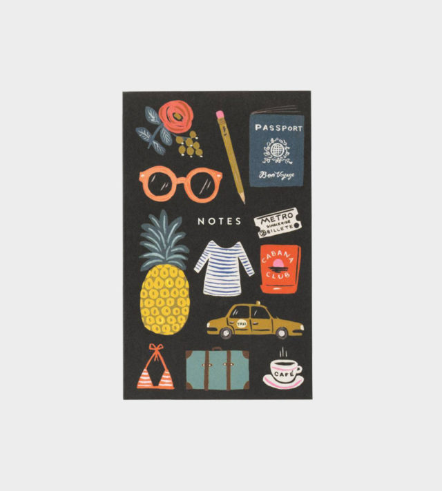 Rifle Paper co Bon Voyage pocket notepad muistilehtiö taskuleht