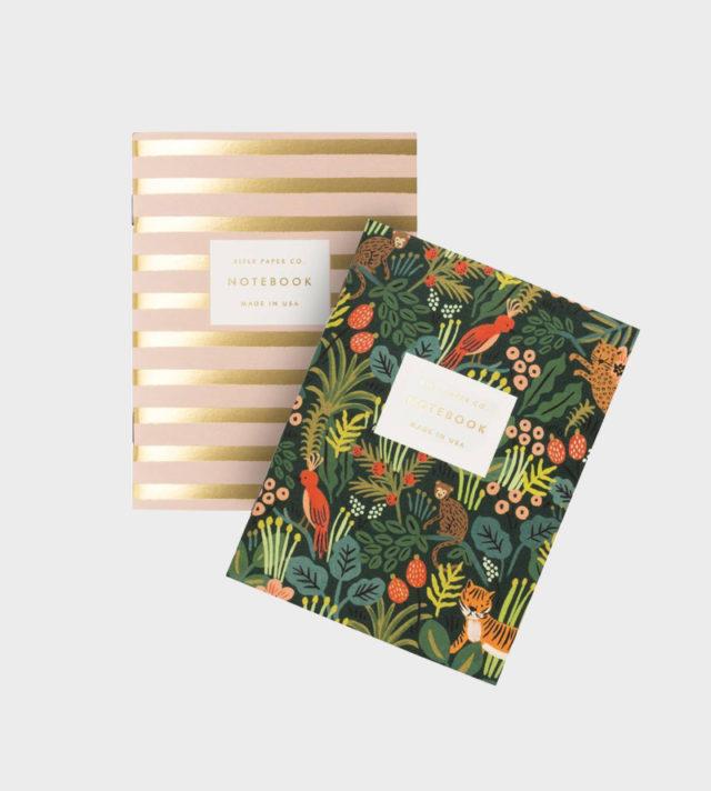 Rifle Paper co Jungle Pocket Notebook set