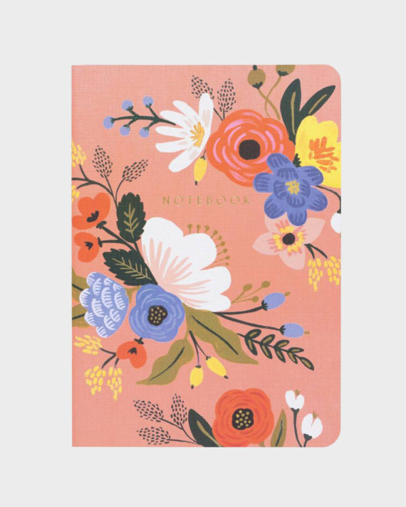 Rifle Paper co Lively Floral Notebook Set Muistivihko setti