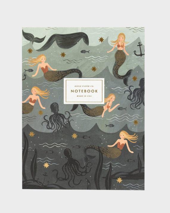 Rifle Paper co Mermaid Notebook Set Muistikirja setti