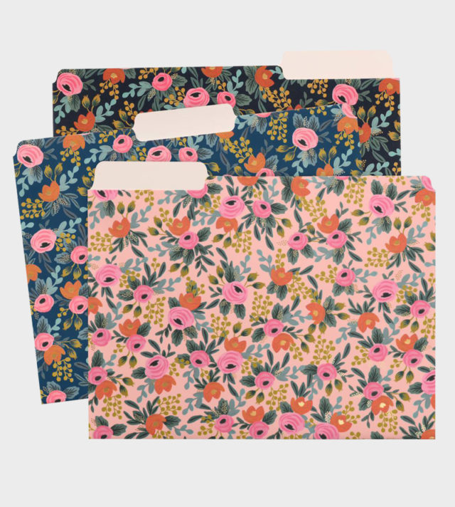 Rifle Paper co Rosa Folders Kansiot