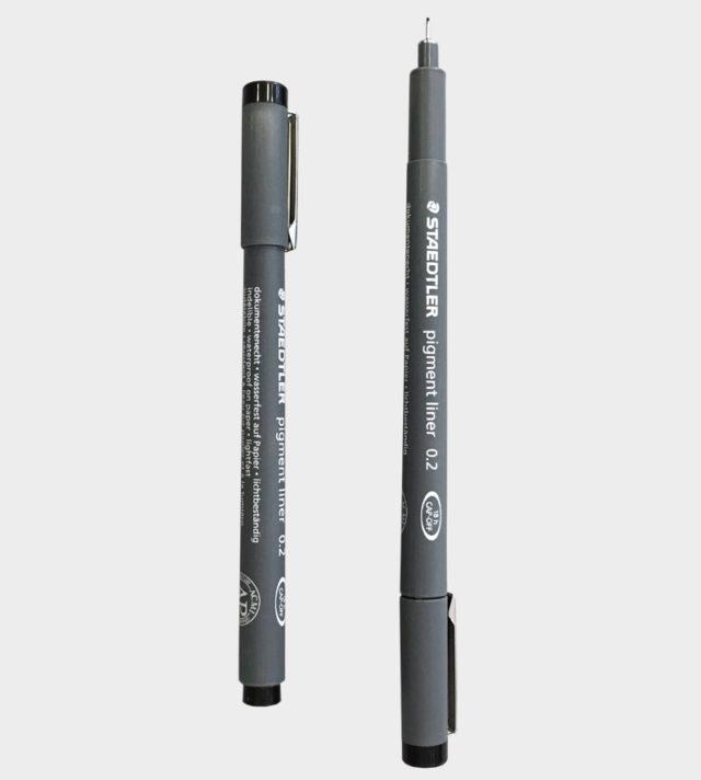 Staedtler pen 0.2. kynä