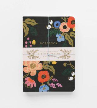 Lively Floral Muistivihkosetti