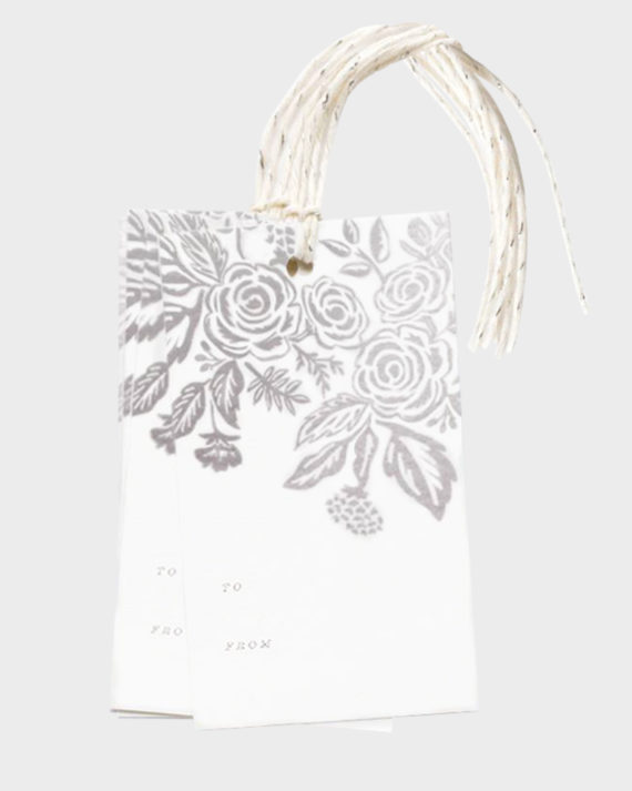 Rifle Paper co Pearl Jardin gift tags Pakettikortit