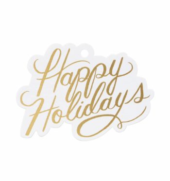 Happy Holidays Pakettikortit