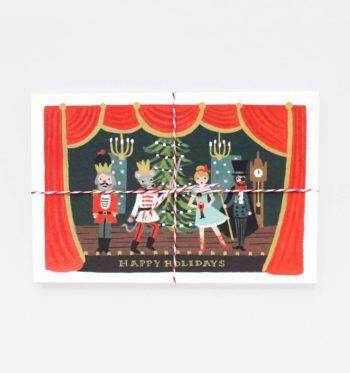 Nutcracker Joulupostikortit