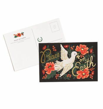 Peace On Earth Joulupostikortit