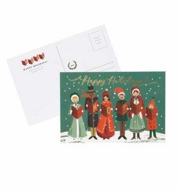 Carolers Christmas Joulupostikortit