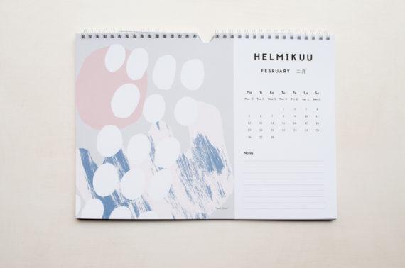 Camille Romano Seinäkalenteri 2018