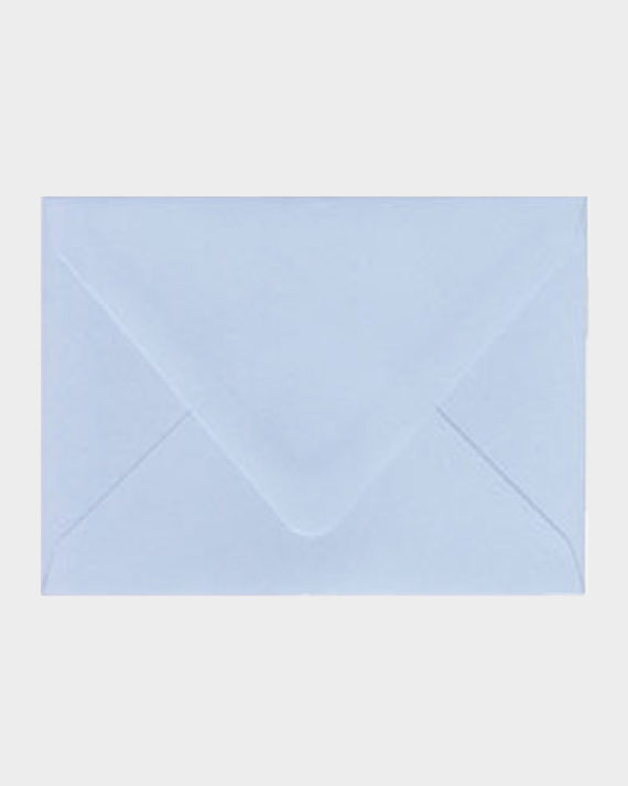 Vaaleansininen matta kirjekuori / Light blue matt envelope