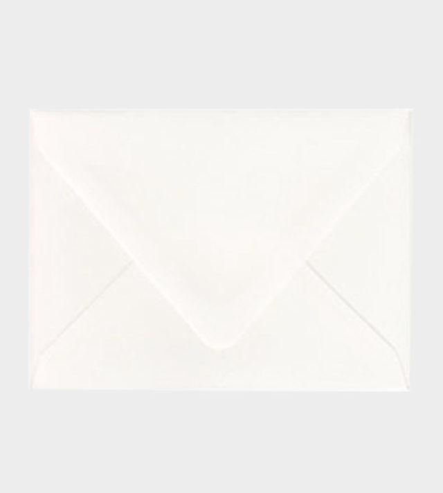 Valkoinenmatta kirjekuori / White matt envelope