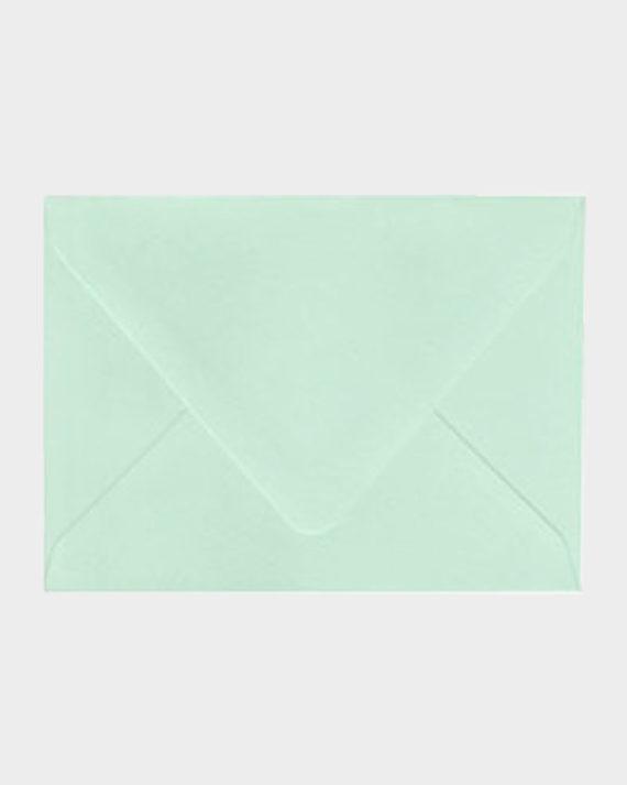 Minttu matta kirjekuori / Mint green matt envelope