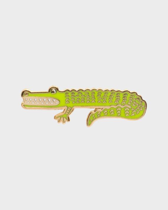 Rifle Paper co Alligator Enamel Pin Alligaattori Emali Pinssi