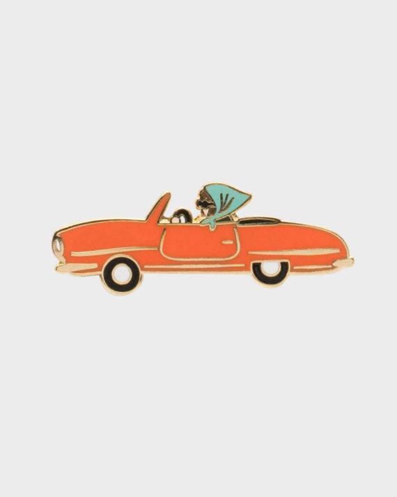 Rifle Paper co Car Enamel Pin Auto Emali Pinssi