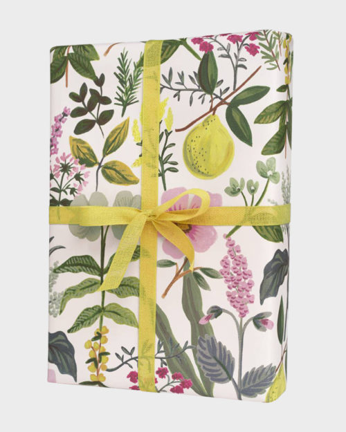 Rifle Paper co Herb Garden Wrapping paper sheets Lahjapaperi