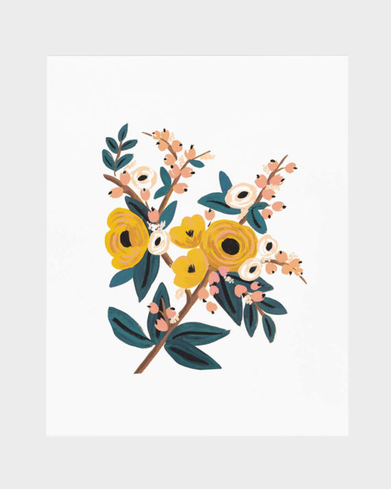 Rifle Paper co Marigold Botanical poster art print juliste