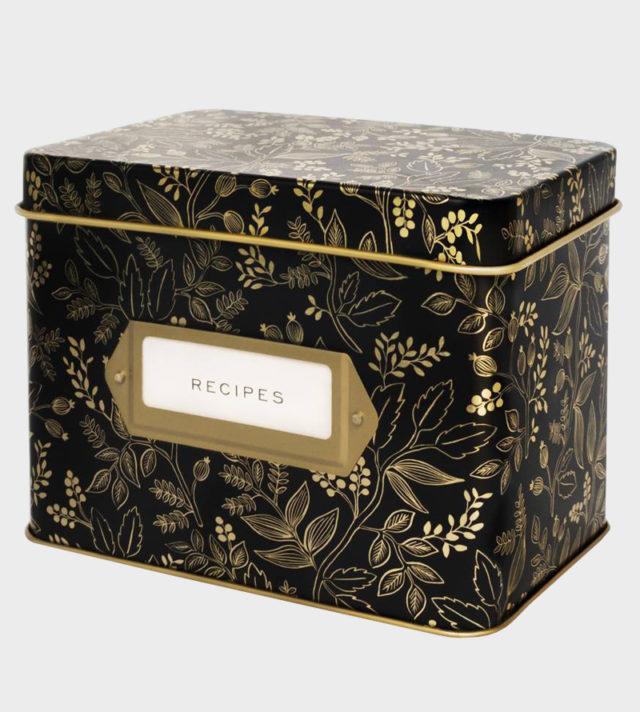 Rifle Paper co Queen Anne recipe box Reseptilaatikko