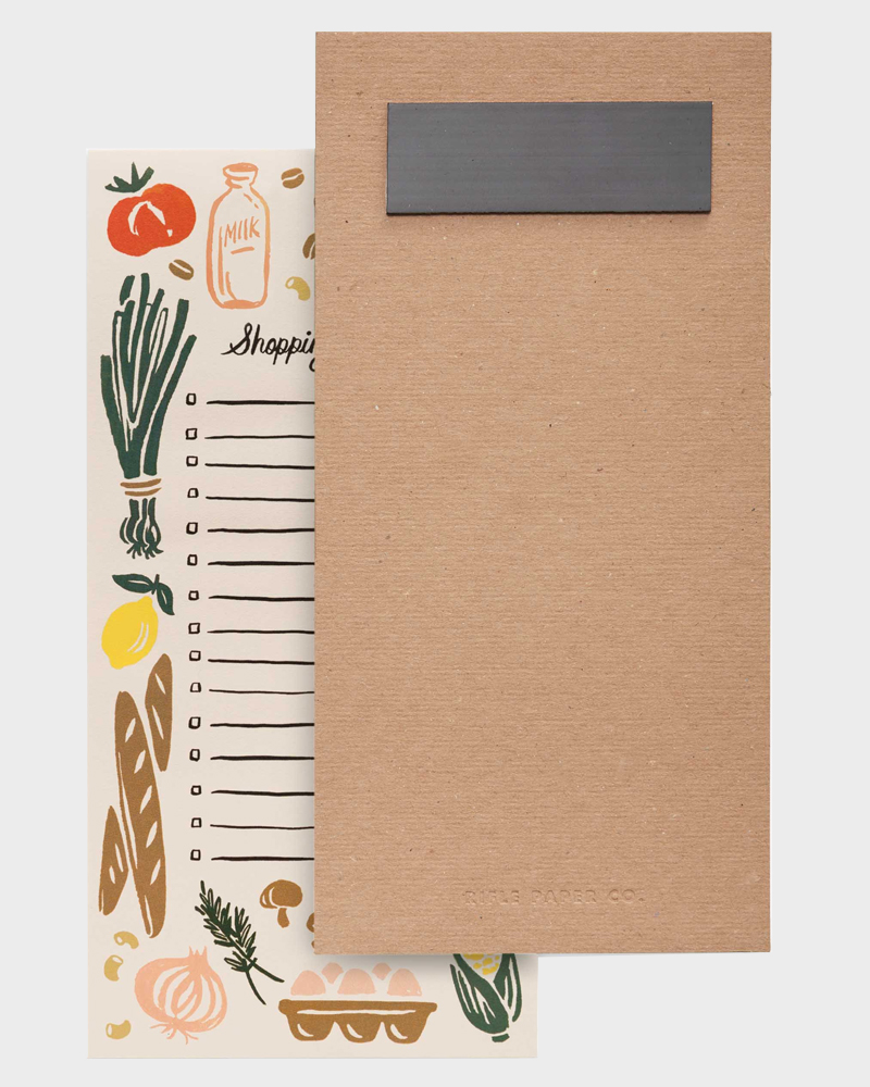 Rifle Paper co Market Shopping List