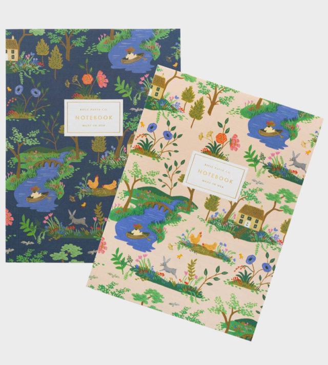 Rifle Paper co Garden Toile Notebook Set Muistikirja setti