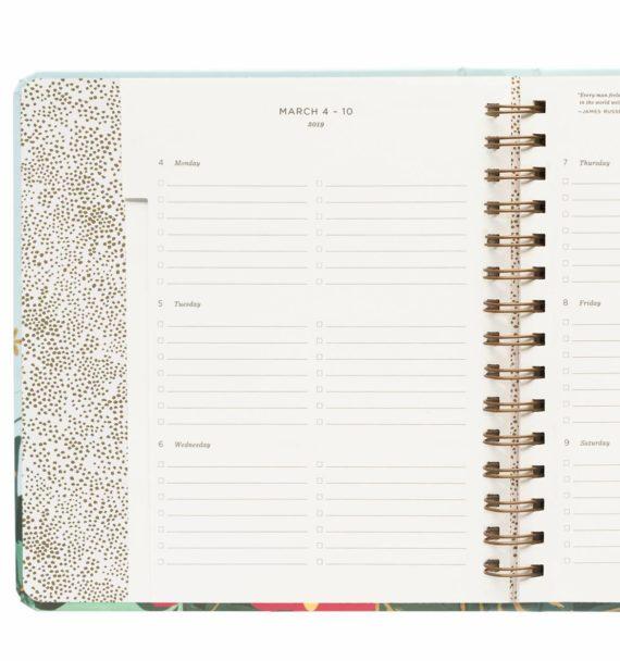 Floral Vines Lukuvuosikalenteri 2018-2019