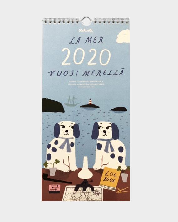 Kehvola La Mer 2020 seinäkalenteri wall calendar