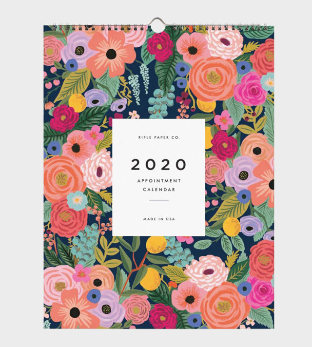 Papershop Helsinki / Rifle Paper co Garden Blooms Appoinment Wal