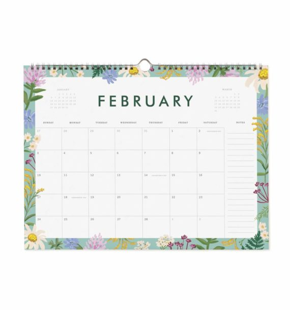 Garden Party Appointment Seinäkalenteri 2019