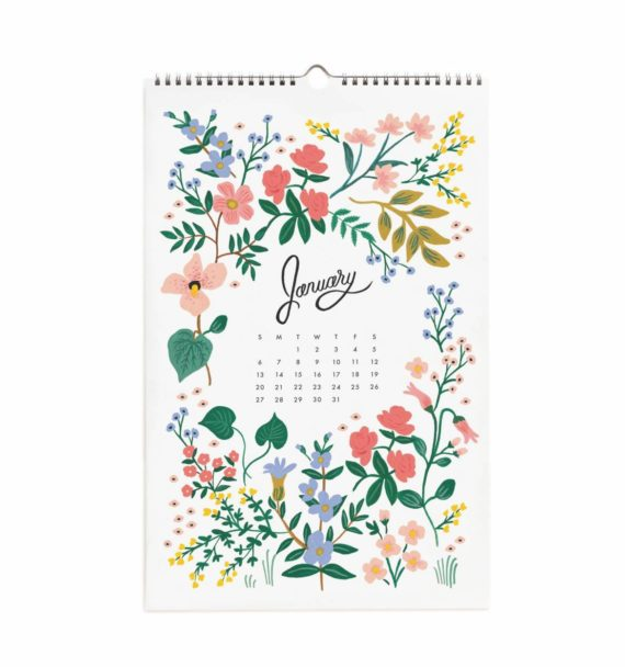 Wildwood Iso Seinäkalenteri 2019