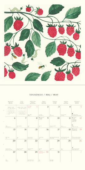 Polka Seinäkalenteri 2019