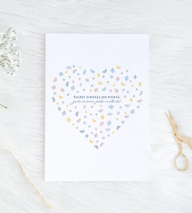 Sydän Vauvakortti