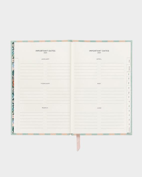 Rifle Paper co Cabana kalenteri agenda planner calendar 2020