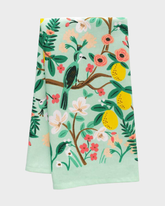 Rifle Paper co Shanghai Garden Kitchen Towel Keittiöpyyhe
