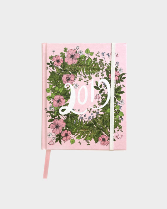 Nuppu Print Company Metsäseppele vaaleanpunainen kalenteri pink
