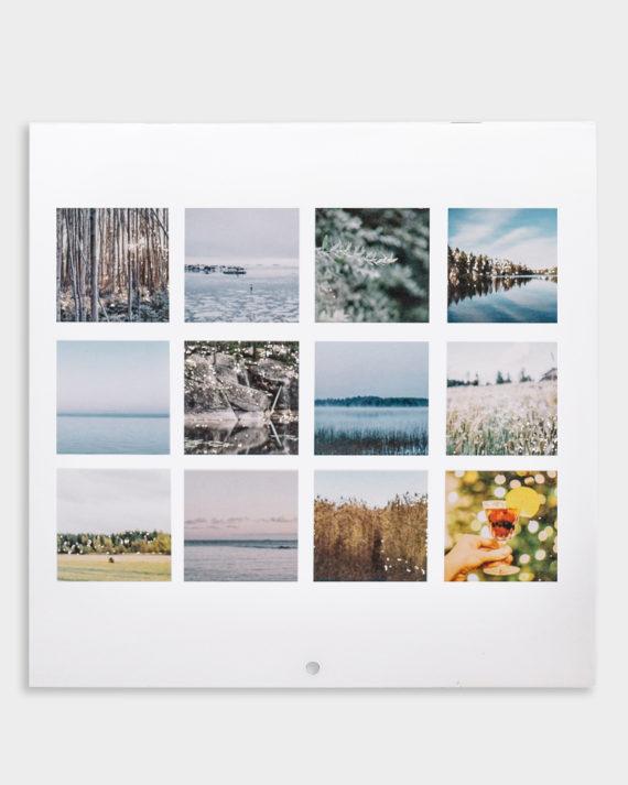 Studio Metsä seinäkalenteri 2019 wall calendar
