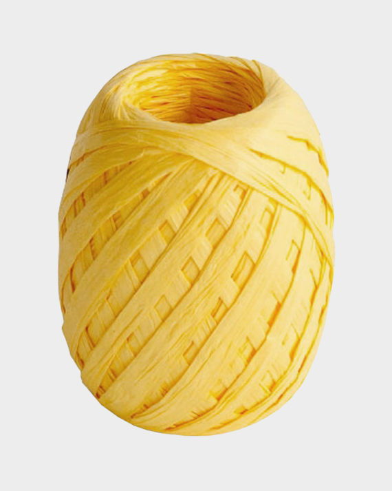 Paperinaru keltainen / Paper yarn yellow