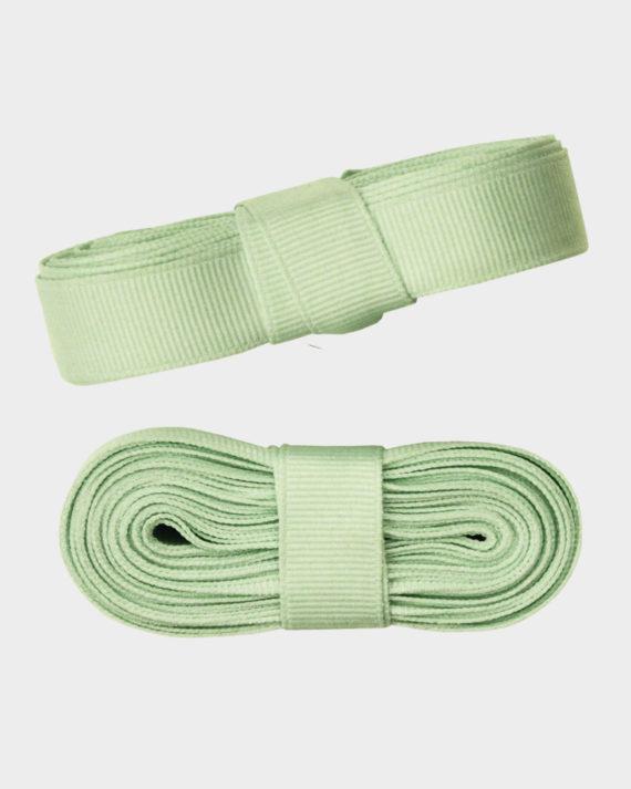 Ribbinauha kangasnauha lahjanauha minttu vaaleanvihreä ribbon yarn mintu green