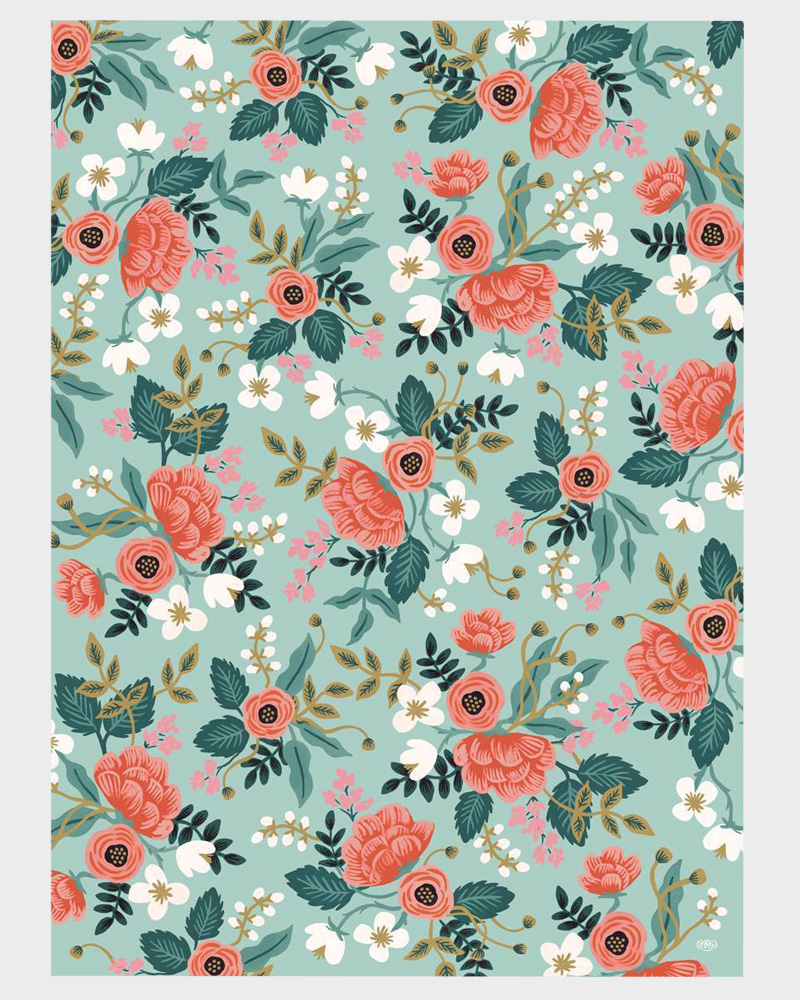 Rifle Paper co Birch Wrapping paper sheets Lahjapaperi