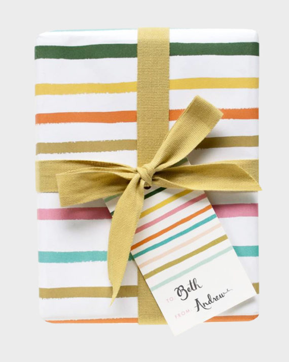 Rifle Paper co Happy Stripes gift tags Pakettikortit