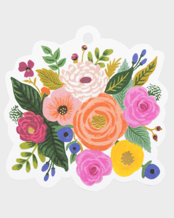 Rifle Paper co Juliet Rose Gift Tag Pakettokortti