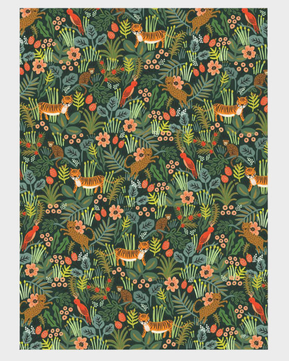 Rifle Paper co Jungle Wrapping paper sheets Lahjapaperi