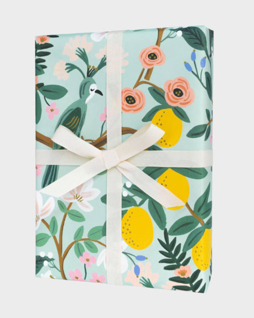 Rifle Paper co Shanghai Garden Wrapping paper sheets Lahjapaperi